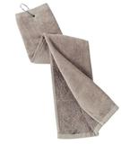 Grommeted Tri-fold Golf Towel Khaki Thumbnail