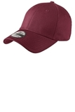 New Era Structured Fitted Cotton Cap Maroon Thumbnail