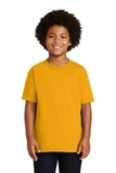 Youth Ultra Cotton 100 Cotton T-shirt Gold Thumbnail