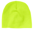 Beanie Cap Neon Yellow Thumbnail