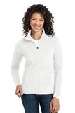 Women's Microfleece Jacket White Thumbnail