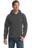 Tall Ultimate Pullover Hooded Sweatshirt Charcoal Thumbnail
