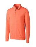 Men's Shoreline 1/2-Zip College Orange Thumbnail