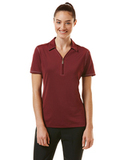 Women's Callaway Industrial Stretch Polo Tawny Port Thumbnail