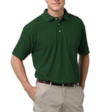 Adult Short Sleeve Pique Polo Shirt With Pocket Hunter Thumbnail