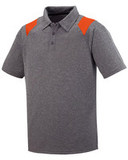 Adult Torce Sport Shirt Grey with Orange Thumbnail