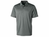 Men's Prospect Textured Stretch Polo Elemental Gray Thumbnail