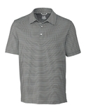 Cutter & Buck Men's Division Striped Polo Elemental Grey Thumbnail