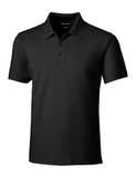 Cutter & Buck Men's Forge Polo Tailored Fit Black Thumbnail