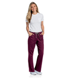 All Day Full Elastic Cargo Pant Wine Thumbnail
