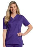All Day Unisex V-neck scrub top Grape (RPMST) Thumbnail