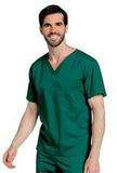 All Day Unisex V-neck scrub top Hunter (GHMST) Thumbnail