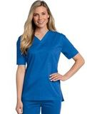All Day Unisex V-neck scrub top Royal (BEMST) Thumbnail