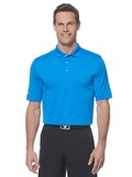 Callaway Opti-vent Knit Polo Shirt Medium Blue Thumbnail