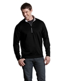 Antigua Leader Pullover Black with Silver Thumbnail