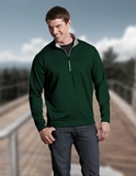 Antigua Leader Pullover Dark Pine with Silver Thumbnail