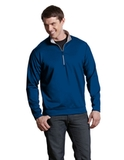 Antigua Leader Pullover Dark Royal with Silver Thumbnail