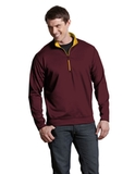 Antigua Leader Pullover Maroon with Gold Thumbnail