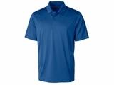 Big & Tall Men's Prospect Textured Stretch Polo Tour Blue Thumbnail