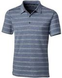 Forge Polo Heather Stripe Tailored fit Indigo Thumbnail