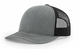 R-FLEX ADJUSTABLE TRUCKER Heather Grey with Black Thumbnail