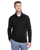 Under Armour Men's Corporate Quarter Snap Up Sweater Fleece Black Thumbnail
