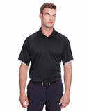 Under Armour Mens Corporate Rival Polo Black Thumbnail