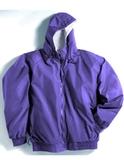Bay Watch Hooded Jacket Purple Thumbnail