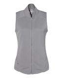 Women's Textured Full-Zip Vest Grey Three Thumbnail