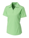 Women's Cutter & Buck DryTec Extended Sizes Genre Polo Shirt Sea Green Thumbnail