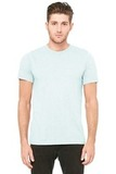 BellaCanvas Unisex Triblend Short Sleeve Tee Ice Blue Triblend Thumbnail
