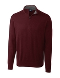 Cutter & Buck Men's Lakemont Half Zip Bordeaux Thumbnail
