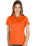 Antigua Women's Balance Polo Mango Thumbnail