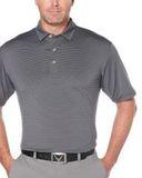 Fine Line Stripe Polo Black Thumbnail