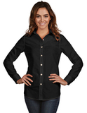 Women's Dynasty Dress Shirt Black Thumbnail