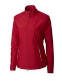 Women's Cutter & Buck WeatherTec Beacon Full Zip Jacket Cardinal Red Thumbnail