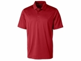 Men's Prospect Textured Stretch Polo Cardinal Red Thumbnail