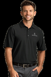 Greg Norman X-Lite 50 Solid Woven Polo Black Thumbnail