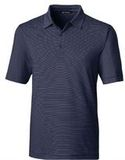 Forge Polo Pencil Stripe Big and Tall Liberty Navy Thumbnail