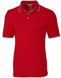 Advantage Tipped Polo Red Thumbnail