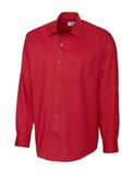 Men's Cutter & Buck Big & Tall L/S Epic Easy Care Spread Nailshead Cardinal Red Thumbnail