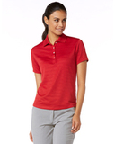 Women's Callaway Textured Performance Golf Shirt Chili Pepper Thumbnail