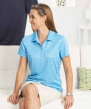 Women's Callaway Textured Performance Golf Shirt Thumbnail