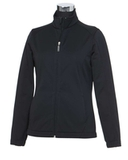 Women's Callaway Tour Bonded Soft Shell Jacket Black Thumbnail