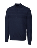 Men's Cutter & Buck Big & Tall Douglas Half Zip Liberty Navy Thumbnail