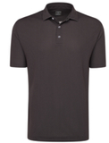 Callaway Men's Diamond Jacquard Polo Black Thumbnail