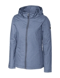 Women's Cutter & Buck Panoramic Packable Wind Jacket Liberty Navy Thumbnail