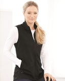 Women's Textured Full-Zip Vest Thumbnail