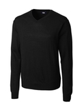 Men's Cutter Buck Big & Tall Douglas V-neck Black Thumbnail