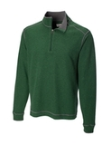 Men's Cutter & Buck Big & Tall Overtime Pullover Hunter Thumbnail